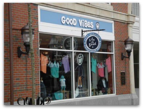 The Good Vibes Store Front