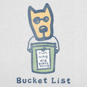 Life is good Bucket List