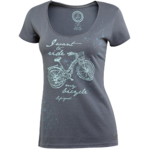 Life is good fashion top bike