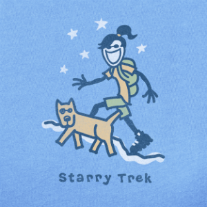 Life is good starry trek