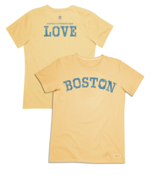Boston Love Sunny Yellow Tee