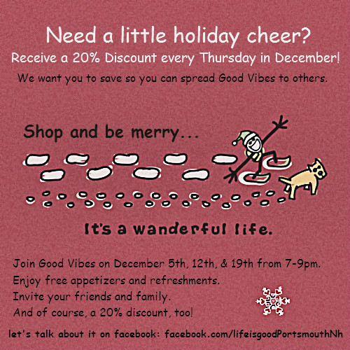 Shop and be merry every Thursday